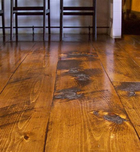 Pine Plank Flooring 458 Best Images About Floors And Walls On Herringbone Drop Cloth Curtains And Hallways