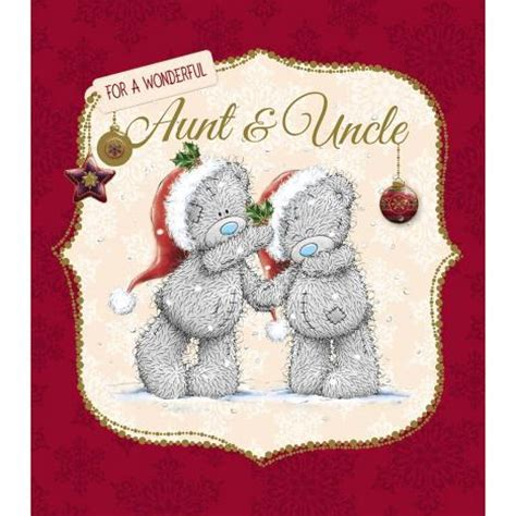 aunt  uncle    bear christmas card xus    bears  store