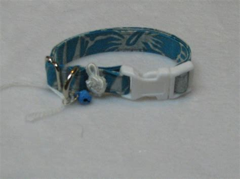 yorkie collars silver with blue pet accessories xxs m collars maltese shih tzu yorkie ebay