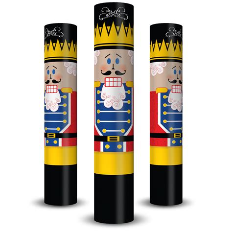 christmas column wraps nutcracker column wrap allenhomedesign