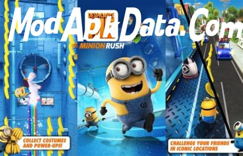 download mod game minion rush despicable me minion rush v1 7 2 mod apk download review