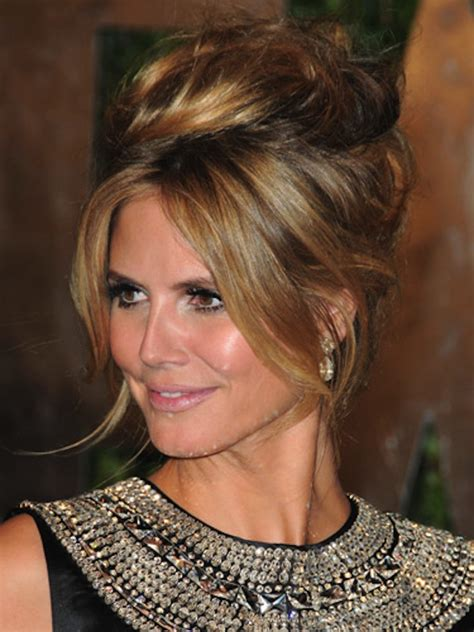 heidi klum long hairstyles 2014 ponytail without bangs pretty 21 wedding updos that go way beyond the low bun brit co