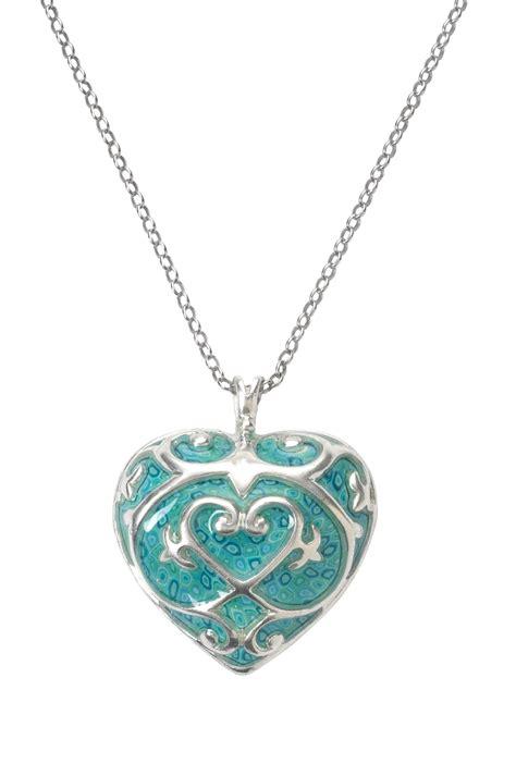 adina plastelina turquoise pendant necklace with