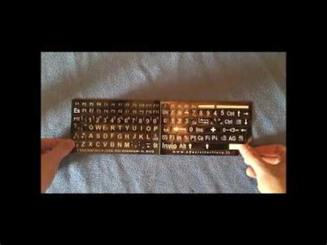lettere tastiera pc stickerslab adesivi lettere tastiera italiano
