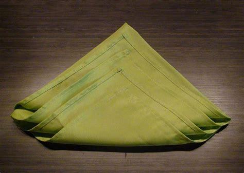 how to make christmas tree napkin fold step by step