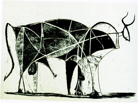 picasso paintings bull abstraction exles picasso s bulls