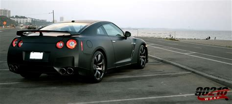 nissan gtr matte black and matte black gtr m3 in the works