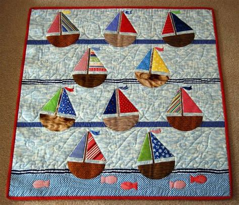 Sail Boat Quilt by Sailboat Baby Quilt Nautical Quilt Patterns Find The Largest Selection Of Nautical Quilt