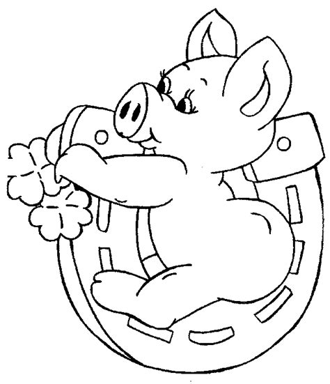free printable pig coloring pages for kids