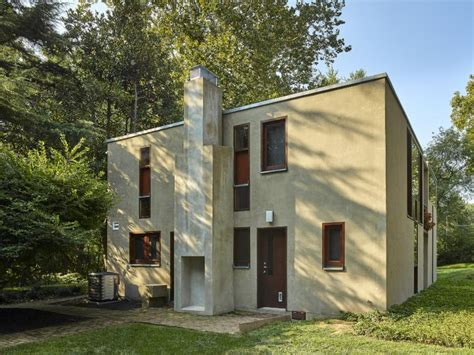 esherick house planphilly restoration of louis kahn s esherick house honored