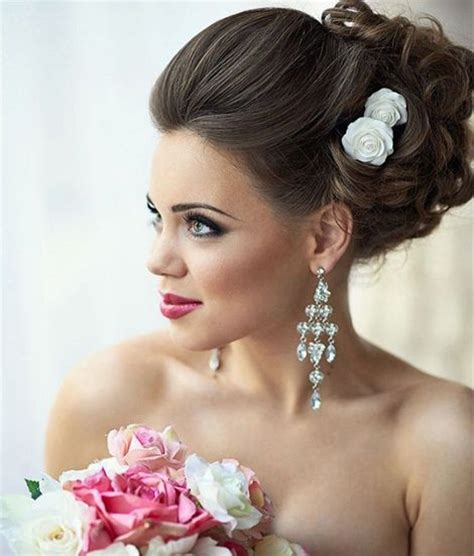 classic updo wedding hairstyles for brides