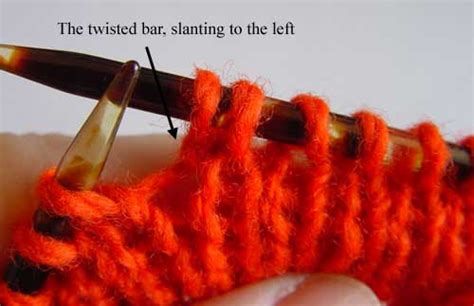 knitting make one left make one