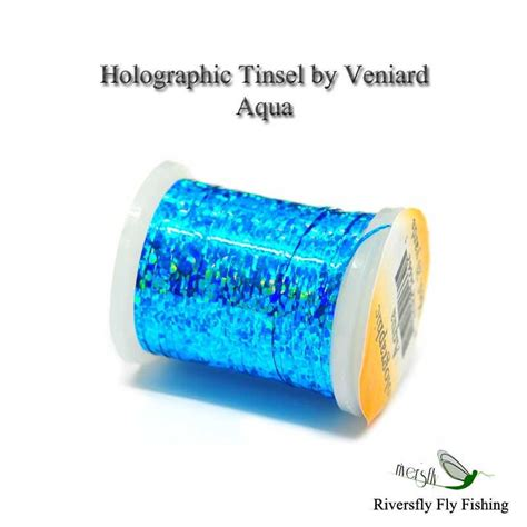 Anglers Pal Thread Tinsel holographic tinsel by veniard
