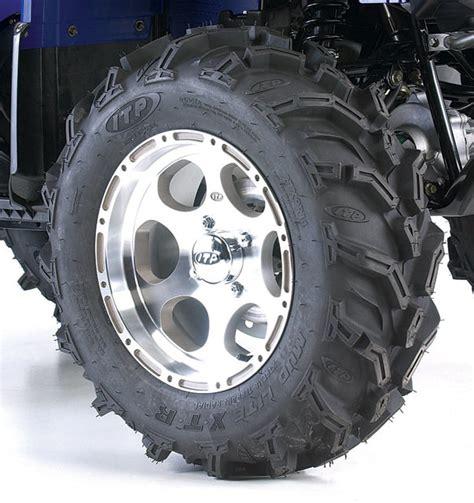 atv news itp mud lite xtr radial atv tire kit