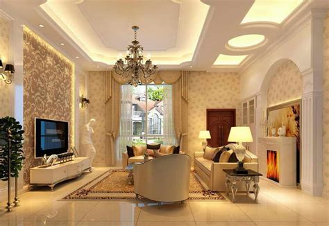 Tray Ceiling Designs For Living Room Luxury Gypsum Tray Ceiling Design For Living Room Interior