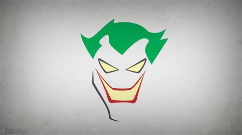 minimalist joker tattoo joker wallpaper from batman animated the joker