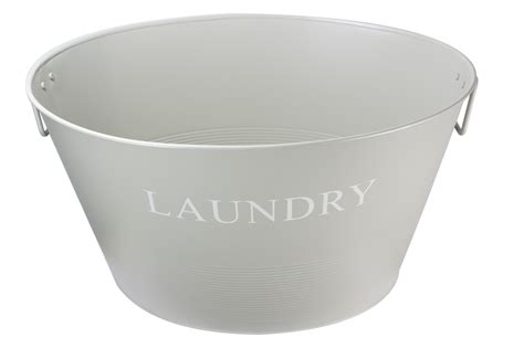laundry basket in bathtub traditional metal laundry washing basket tub carrier