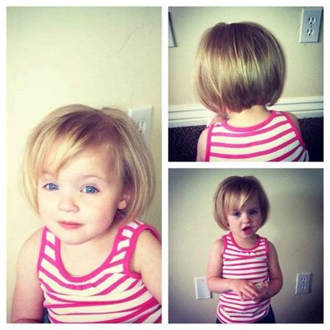 toddler haircuts girl bangs best 25 toddler bob haircut ideas on pinterest kids