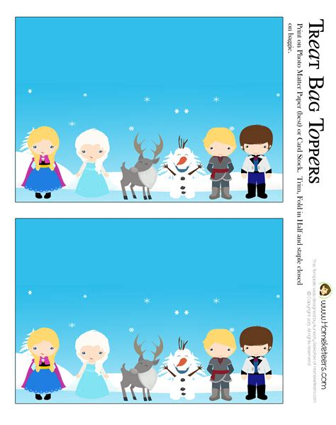 printable frozen party 8 best images of frozen party food tent label free