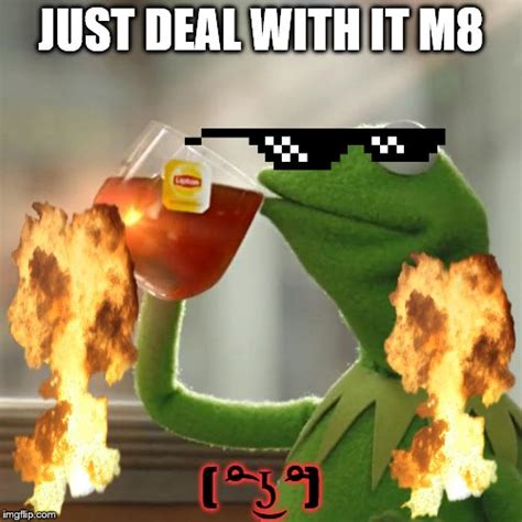 Meme Generator Deal With It - but thats none of my business meme imgflip