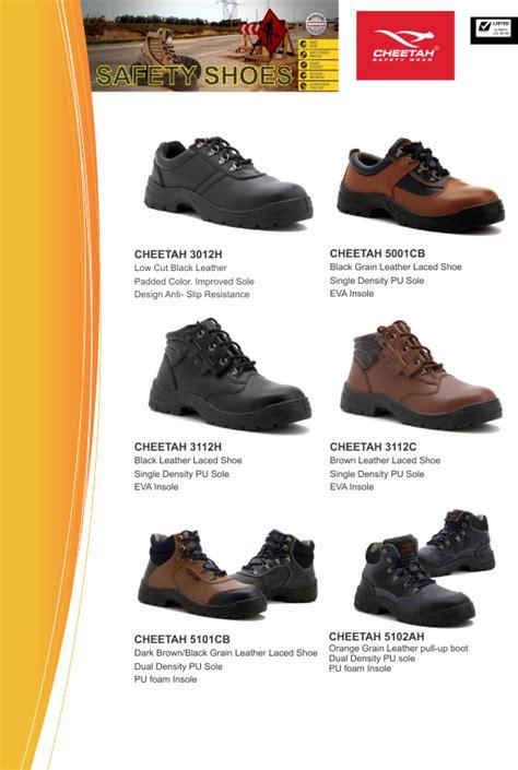 Gambar Sepatu Safety Merk Cheetah cheetah 187 safety corner indonesia toko peralatan safety