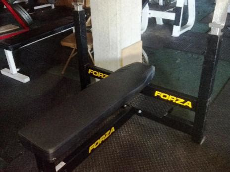 forza bench press used powerlifting equipment