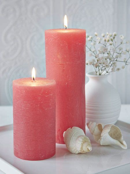 bathroom candles and accessories coral pillar candles nordichouse decoraci 243 n con velas