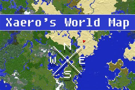 minecraft modded maps xaero s world map mod for minecraft 1 12 2 1 11 2