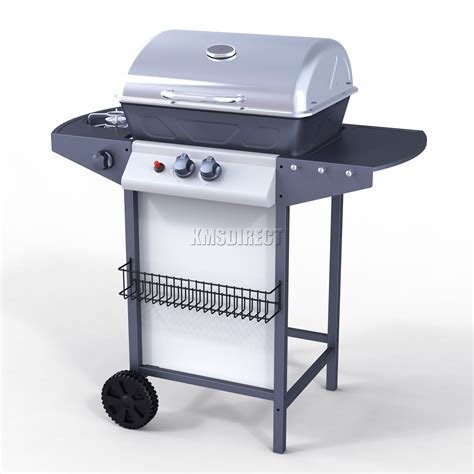 Backyard Grill 2 Burner Gas Grill Foxhunter New 2 Burner Bbq Gas Grill Stainless Steel Barbecue 1 Side Outdoor Ebay