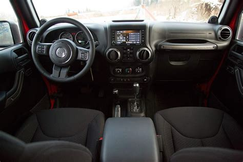 Inside Of Jeep Wrangler Unlimited 2014 Jeep Wrangler Unlimited Sport Interior Front Rear View