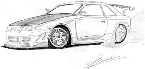 imagenes a blanco y negro de carros autos dibujados por braian jesus olmos mis dibujos