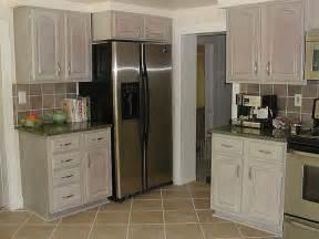 Whitewash Kitchen Cabinets by Whitewashed Kitchen Cabinets Finishes Ashley Spencer