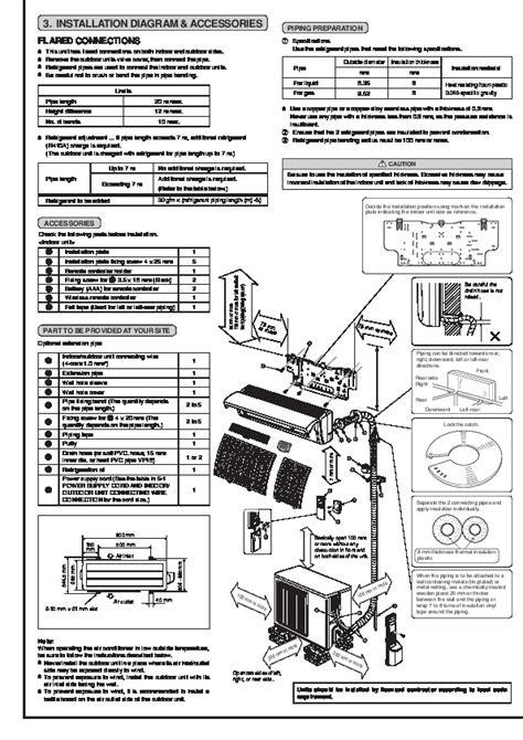 mitsubishi electric air conditioner manual mitsubishi msz fa25 fa35va muz fa25 fa35va wall air
