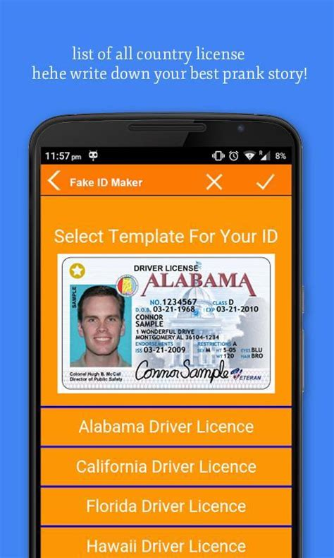 Joke Id Card Template by Id Card Maker Apk Free Social App For Android