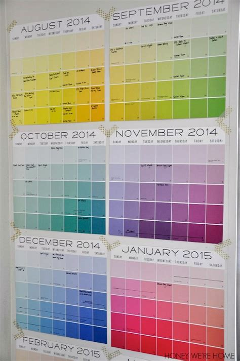 Calendar With Organization 20 Worthy Back To School Organisation Ideas Just