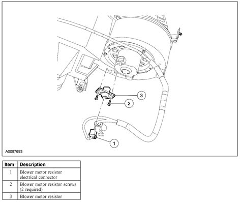 how to install blower motor resistor ford escape ford escape locating and replacing the 2006 ford escape heater