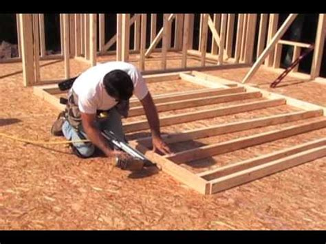 best way to build a house framing and building a wall youtube