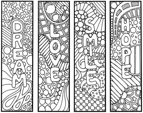 free printable coloring page bookmarks dawn nicole pin by karen hartman on bookmarks pinterest bookmarks