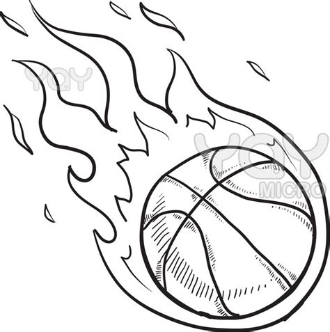 free printable coloring sheet of basketball sport for kids basketball coloring page pages coloring pages