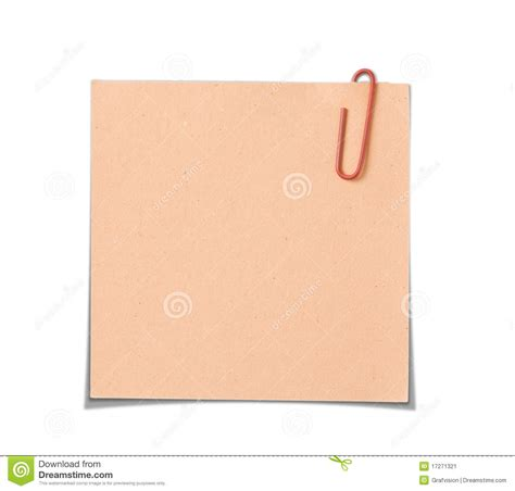 How To Make Paper Notes - paper notes stock image image 17271321