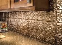 Lowes Backsplashes For Kitchens by Metal Backsplash Tiles Home Design Ideas Kitchen Lowes