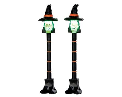 battery operated l post witch l post set 54914 lemax spooky town ehobbytools