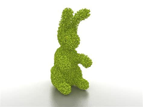 topiary rabbit topiary rabbit 3d model 3ds max files free