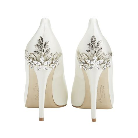 Wedding Shoes Embellished by Harriet Wilde Marina Embellished Heel Peep Toe