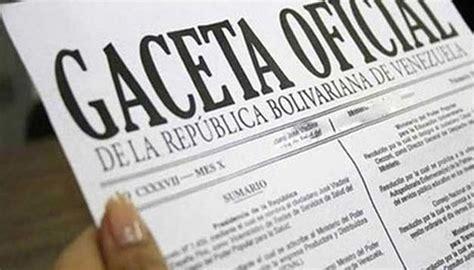 gaceta oficial nro 40846 correspondiente al 11 de ciudadanos 12 detalles que debe conocer del cestaticket