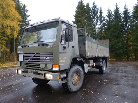 used volvo trucks for sale in sweden used volvo fl10 4x4 flatbed dropside year 1993 for sale