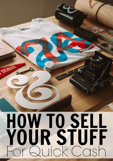 how to sell your stuff and make money sense