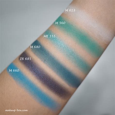 Look At Me M689 shu uemura color atelier shadow swatches and it cosmetics