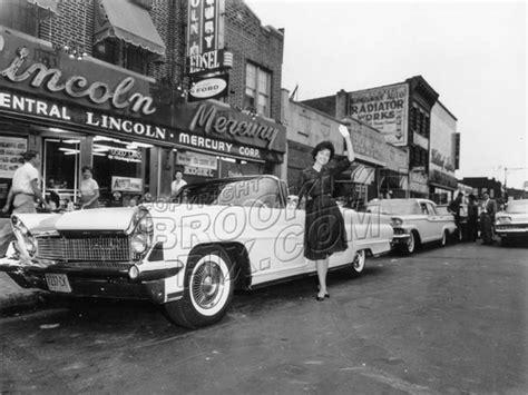 coney island avenue lincoln mercury dealer 1960 midwood