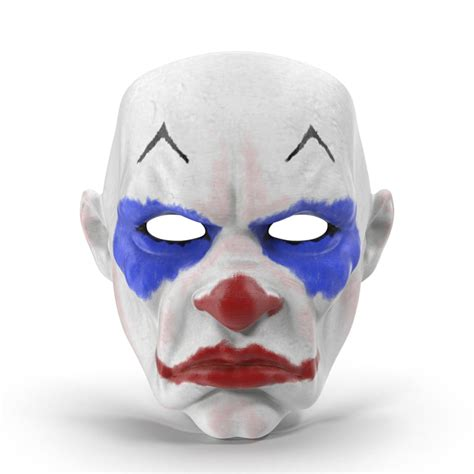 printable clown mask max clown mask